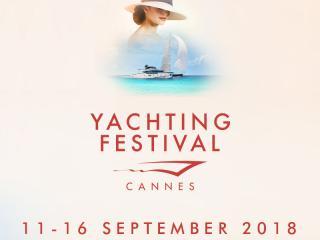 Cannes Yachting Festival 2018 du 11 au 16 septembre
