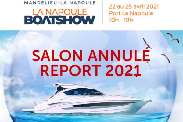 Le salon nautique La Napoule Boat Show reporté en 2021 !