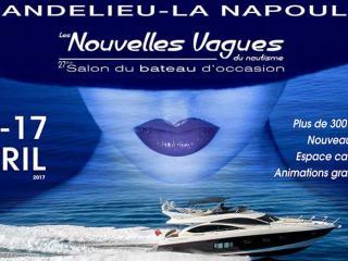 Salon du bateau d'occasion de Mandelieu 2017 - Nouvelles Vagues