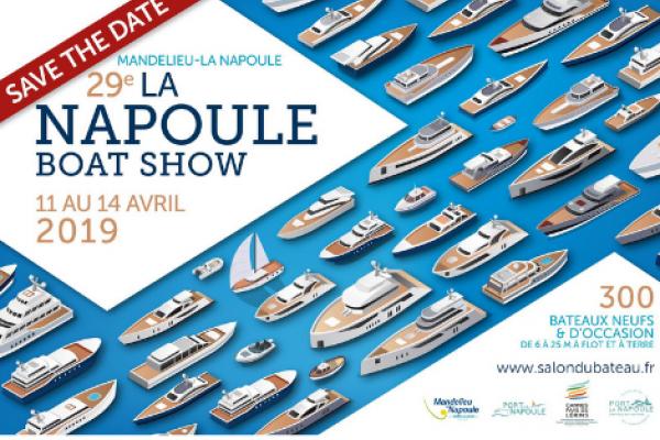 La Napoule Boat Show 2019 : participez au salon du bateau neuf et occasion du 11 au 14 avril !
